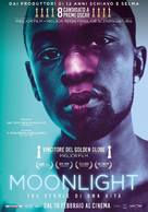 Moonlight - Italian Movie Poster (xs thumbnail)