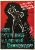 The Invisible Man Returns - Swedish Movie Poster (xs thumbnail)