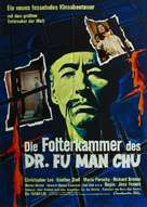 The Castle of Fu Manchu - German Movie Poster (xs thumbnail)