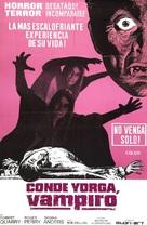 Count Yorga, Vampire - Argentinian Movie Poster (xs thumbnail)