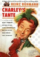 Charleys Tante - German Movie Poster (xs thumbnail)