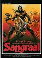 Sangraal, la spada di fuoco - French Movie Poster (xs thumbnail)