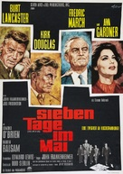 Seven Days in May - German Movie Poster (xs thumbnail)