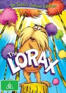 The Lorax - Australian DVD cover (xs thumbnail)