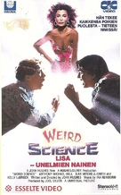 Weird Science - Finnish VHS movie cover (xs thumbnail)