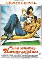 Segni particolari: bellissimo - Spanish Movie Poster (xs thumbnail)