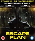 Escape Plan - British Blu-Ray movie cover (xs thumbnail)