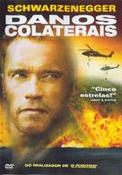 Collateral Damage - Portuguese DVD movie cover (xs thumbnail)