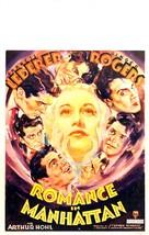 Romance in Manhattan - Movie Poster (xs thumbnail)