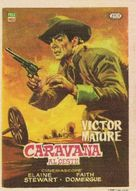 Escort West - Spanish Movie Poster (xs thumbnail)