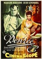 Desirée - German Movie Poster (xs thumbnail)