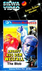 The Blob - German VHS cover (xs thumbnail)