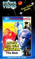 The Blob - German VHS movie cover (xs thumbnail)