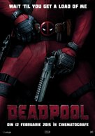 Deadpool - Romanian Movie Poster (xs thumbnail)