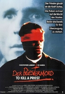 To Kill a Priest - German Movie Poster (xs thumbnail)