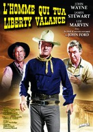 The Man Who Shot Liberty Valance - French Re-release poster (xs thumbnail)