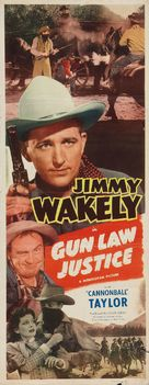 Gun Law Justice - Movie Poster (xs thumbnail)