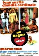 Don't Make Waves - Spanish Movie Poster (xs thumbnail)