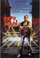 Repo Man - German Movie Poster (xs thumbnail)