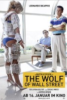 The Wolf of Wall Street - German Movie Poster (xs thumbnail)