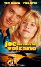 Joe Versus The Volcano - VHS cover (xs thumbnail)