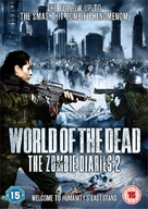 World of the Dead: The Zombie Diaries - British DVD cover (xs thumbnail)