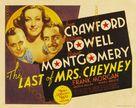 The Last of Mrs. Cheyney - Movie Poster (xs thumbnail)