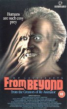 From Beyond - British VHS movie cover (xs thumbnail)