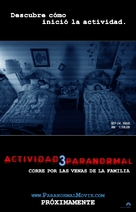 Paranormal Activity 3 - Mexican Movie Poster (xs thumbnail)