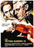La decima vittima - Spanish Movie Poster (xs thumbnail)