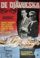 Les diaboliques - Swedish Movie Poster (xs thumbnail)