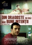 Din dragoste cu cele mai bune intentii - Romanian Movie Poster (xs thumbnail)