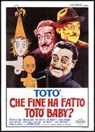 Che fine ha fatto Totò baby? - Italian Movie Poster (xs thumbnail)