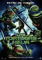 TMNT - Spanish Movie Poster (xs thumbnail)