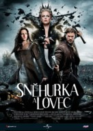 Snow White and the Huntsman - Czech Movie Poster (xs thumbnail)