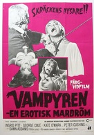 The Vampire Lovers - Swedish Movie Poster (xs thumbnail)