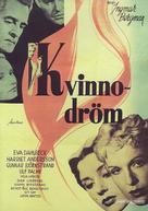 Kvinnodröm - Swedish DVD cover (xs thumbnail)