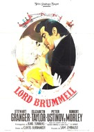 Beau Brummell - Italian Movie Poster (xs thumbnail)