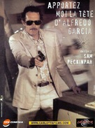 Bring Me the Head of Alfredo Garcia - French Movie Cover (xs thumbnail)