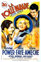 Alexander's Ragtime Band - French Movie Poster (xs thumbnail)