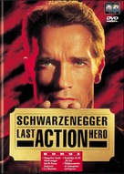 Last Action Hero - Swiss DVD movie cover (xs thumbnail)