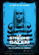 The Lords of Salem - Italian Movie Poster (xs thumbnail)