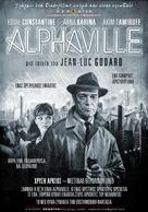 Alphaville, une étrange aventure de Lemmy Caution - Greek Movie Poster (xs thumbnail)