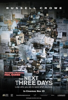 The Next Three Days - Malaysian Movie Poster (xs thumbnail)