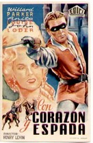 The Fighting Guardsman - Spanish Movie Poster (xs thumbnail)