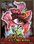 Sette orchidee macchiate di rosso - French Movie Poster (xs thumbnail)