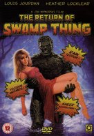 The Return of Swamp Thing - British Movie Cover (xs thumbnail)