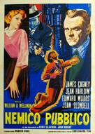 The Public Enemy - Italian Movie Poster (xs thumbnail)