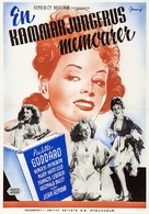 The Diary of a Chambermaid - Swedish Movie Poster (xs thumbnail)