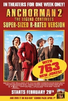 Anchorman 2: The Legend Continues - Video release poster (xs thumbnail)